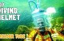 Copper Diver Brass Nautical Diving Divers Helmet U. S Navy Mark V Vintage Scuba